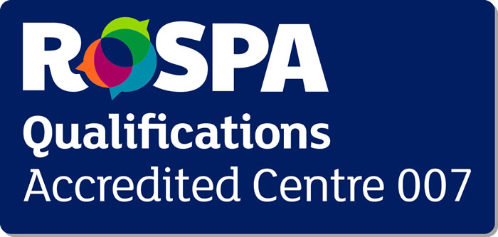 Rospa Qualifications Accredited Centre 007