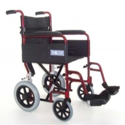 Folding Aluminium Transit Wheelchair R