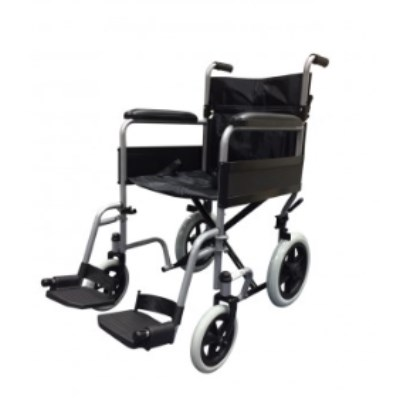Folding Steel Transit Wheelchair R